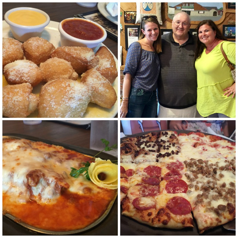 Pizza and German food from Bruno's Pizza are a must when visiting West Lafayette, Indiana.