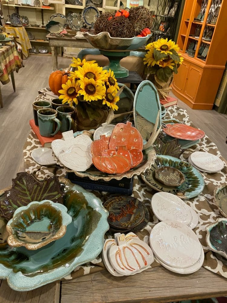 midnite pottery fall pieces