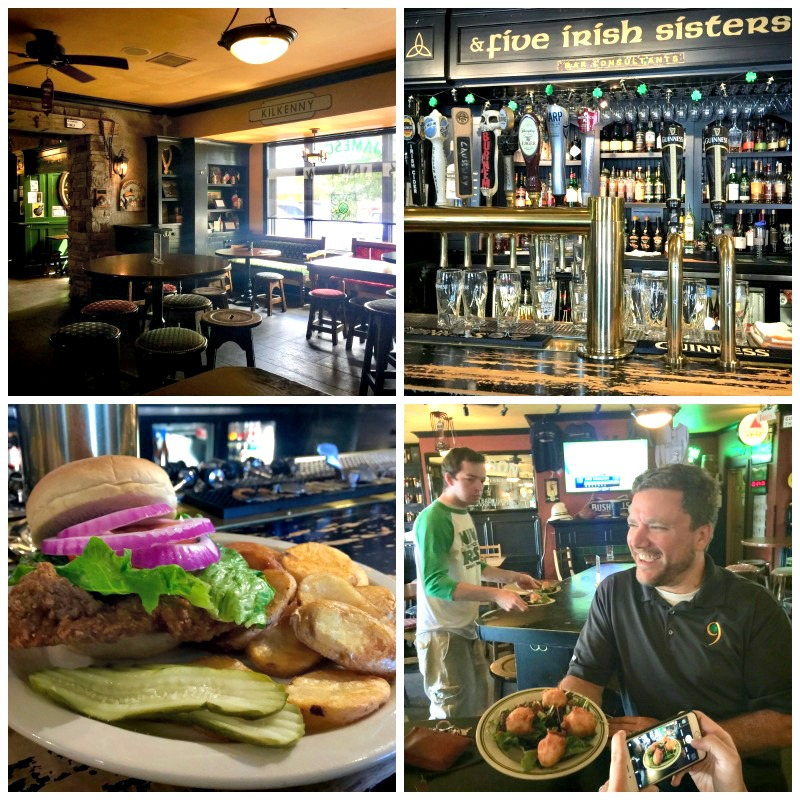 A proper English meal and Guinness from Nine Irish Brothers is a must when visiting West Lafayette, Indiana.