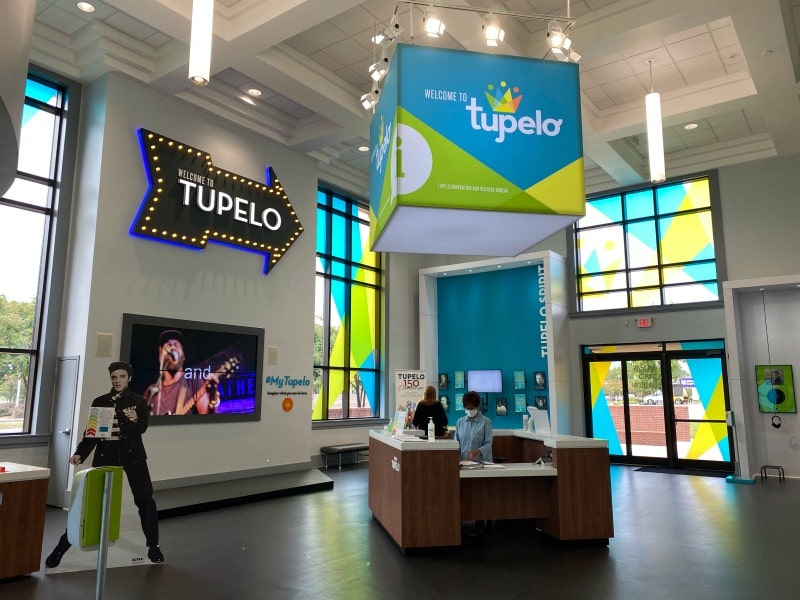 tupelo visitor center