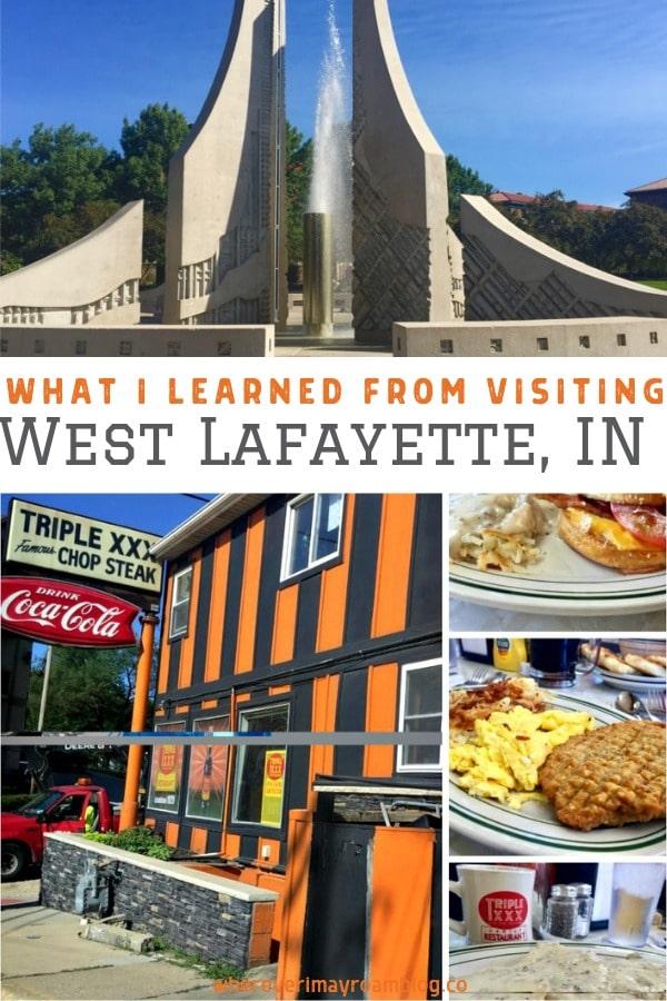 West Lafayette pin