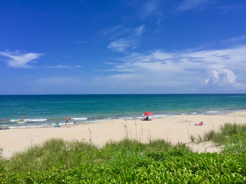 Spending some time at the beach is definitely one of the things you should do when spending the weekend in Delray Beach.