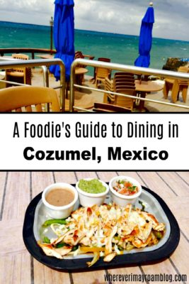 The Money Bar Is One Of Places For Delicious Dining In Cozumel Mexico