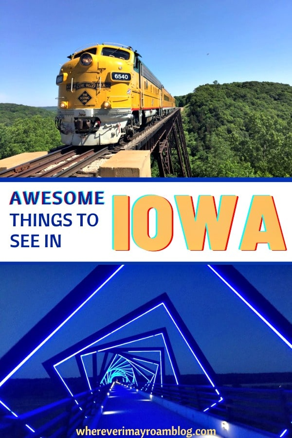 Awesome things to see in Iowa