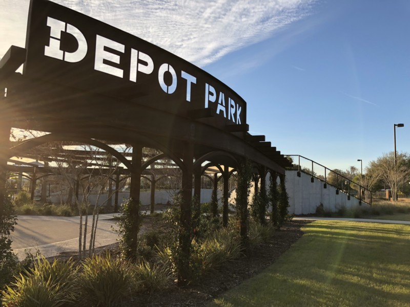 Our itinerary for Gainesville, Florida includes visiting the fun Depot Park.