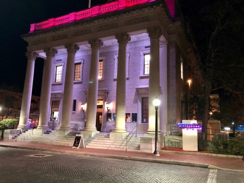 Our itinerary for Gainesville, Florida includes seeing a performance at The Hipp.
