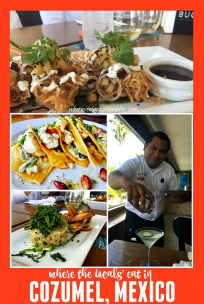 where the locals eat in Cozumel