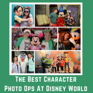 Here are the best character photo ops at Disney World.