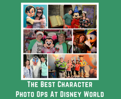 The Best Character Photo Ops At Disney World