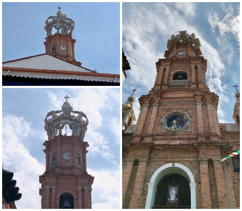 Witnessing beautiful architecture contributed to our fun in Puerto Vallarta.
