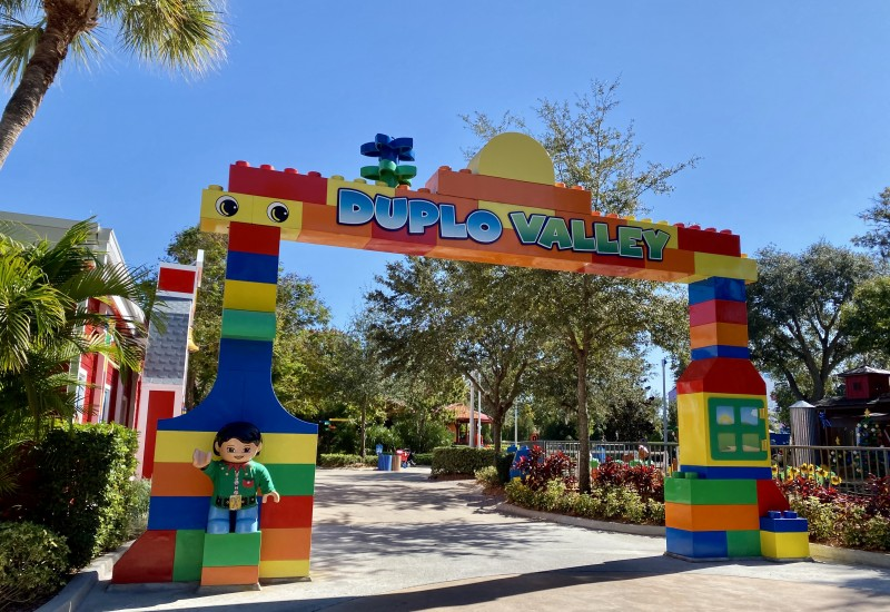 duplo valley LEGOLAND kids area
