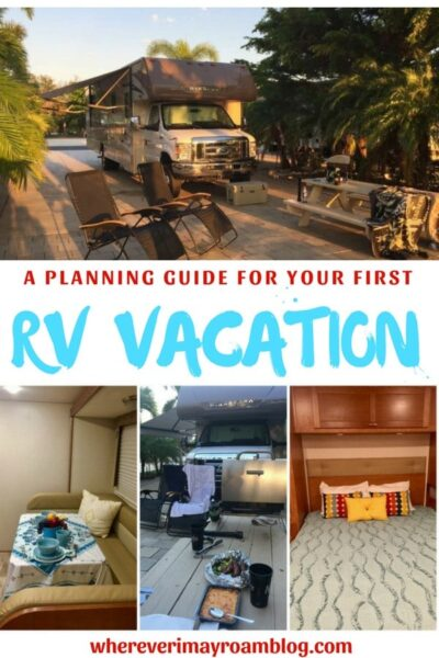 guide for your rv vacation