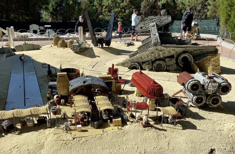 legoland star wars mini