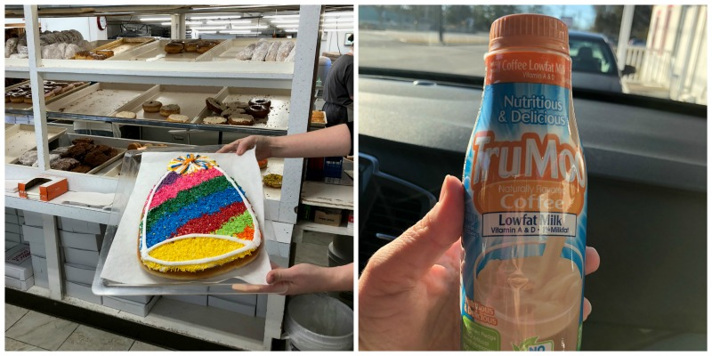 Two Rhode Island staples: Sprinkles cakes and Coffee milk.