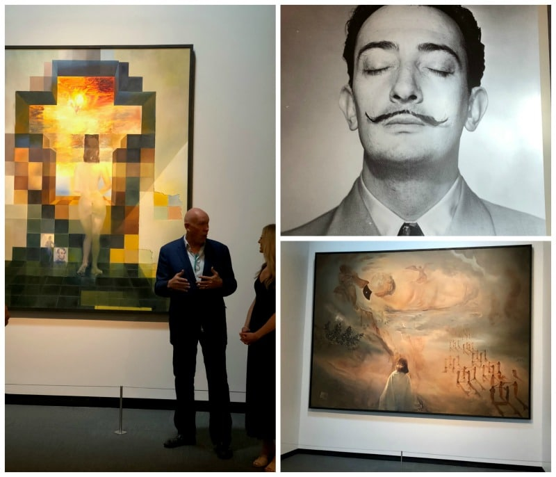 Visiting the Dali Museum was one of the things I loved about St. Pete.