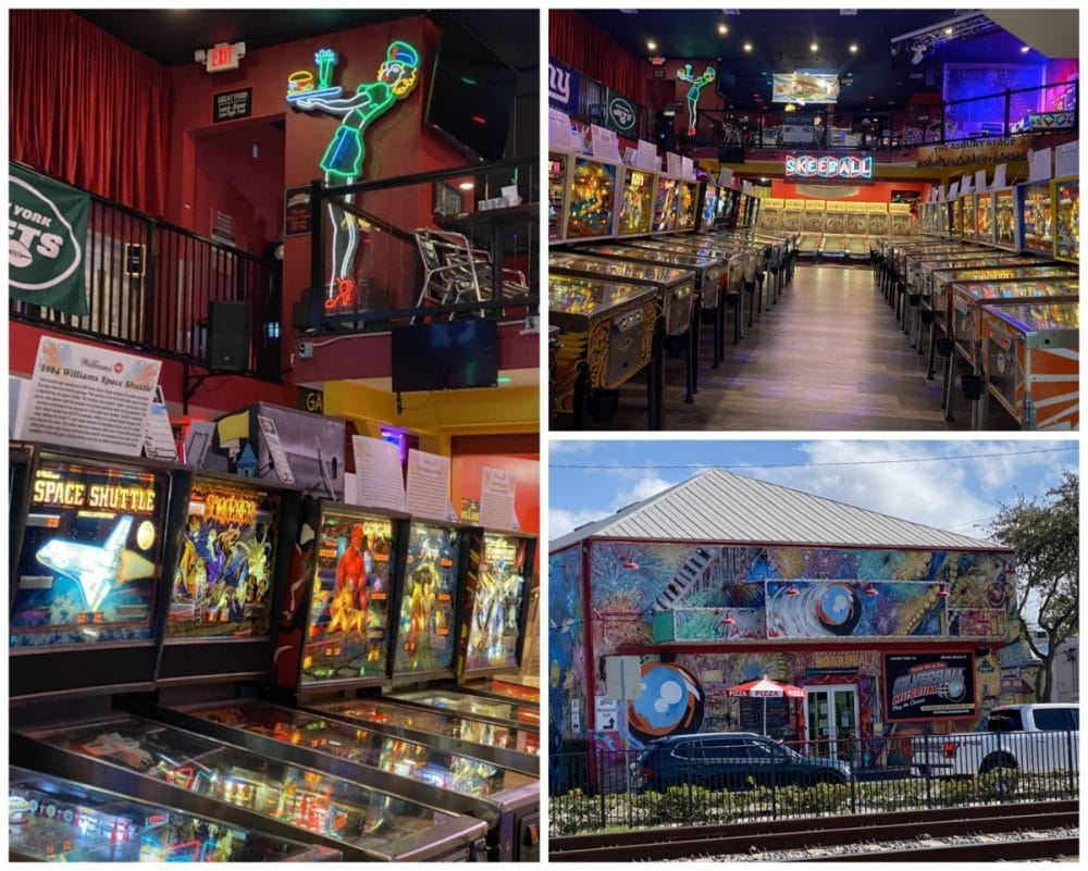 silverball arcade pinball machines and skeeball