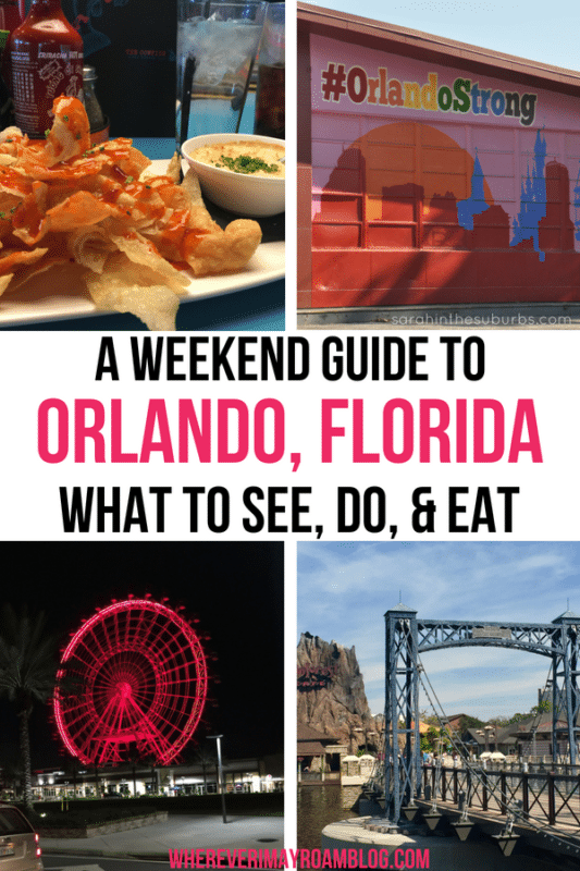 Our weekend guide to Orlando, Florida includes fun attractions and adventure.