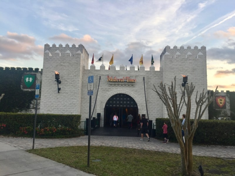 Our family-fun weekend guide to Orlando includes a visit to Medieval Times to cheer for steed and steel!