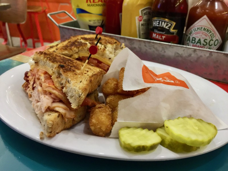 OUr weekend guide to Orlando includes gourmet sandwiches for lunch from Bread Box Handcrafted Sandwiches at Universal Citywalk.