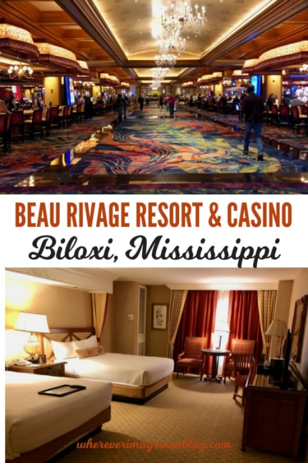 The Beau Rivage Resort & Casino in Biloxi, Mississippi is a fantastic place to stay and play.