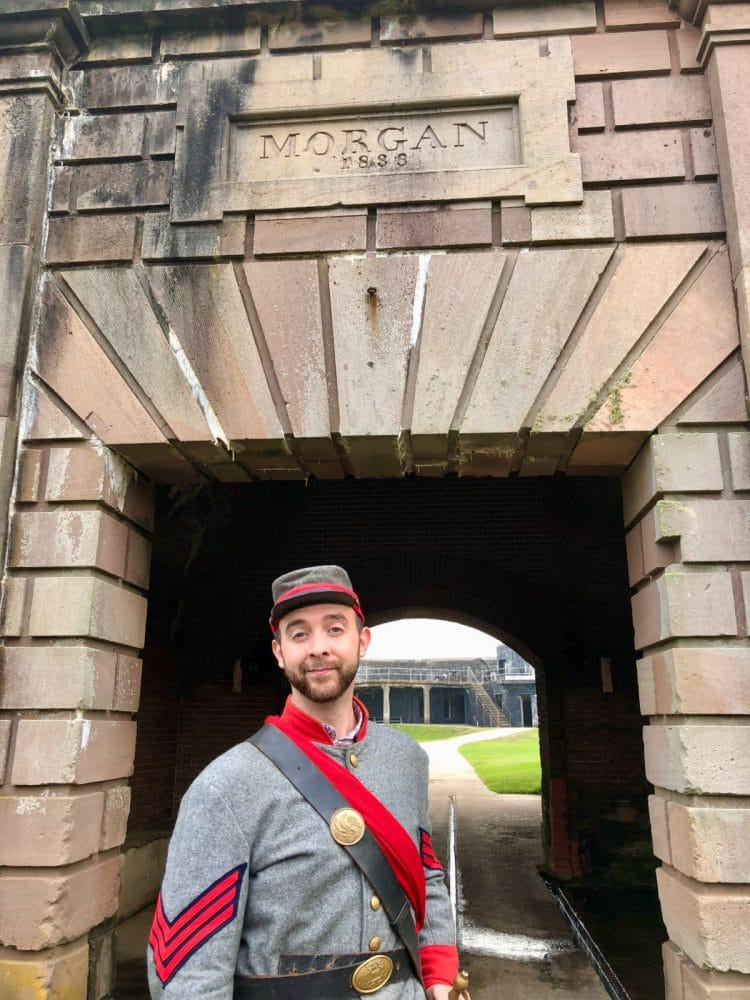 guide-at-Fort-Morgan-historic-site