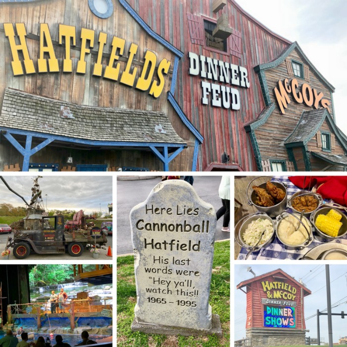 Our guide to Pigeon Forge, Tennessee includes a visit to the Hatfields & Mccoys Dinner Feud.