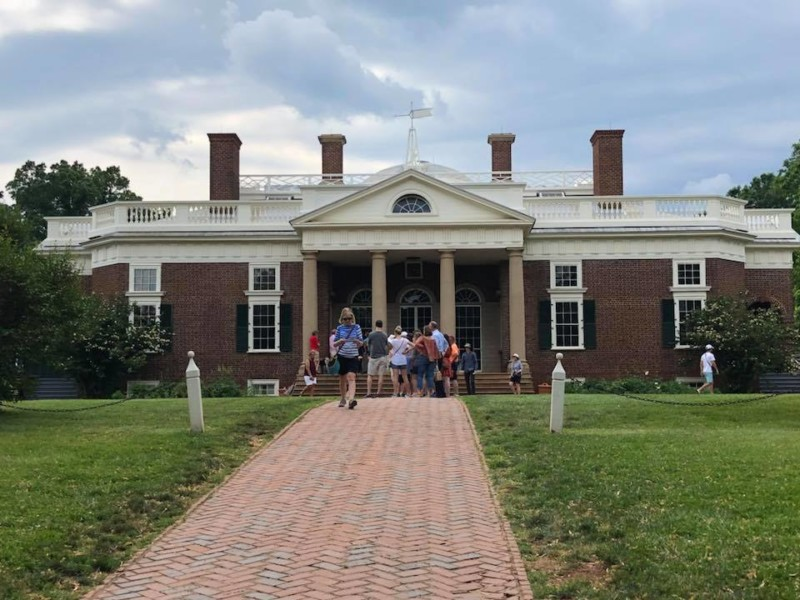 You definitely need to see Jefferson's Monticello Estate when visiting Charlottesville, Virginia.