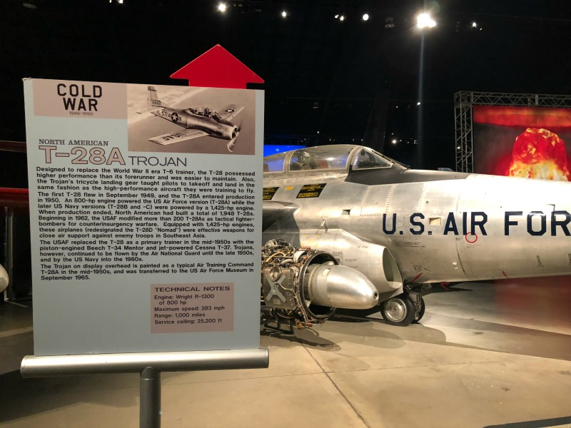Seeing historical planes at the Air Force Museum is one of the reasons you should visit Dayton, Ohio.