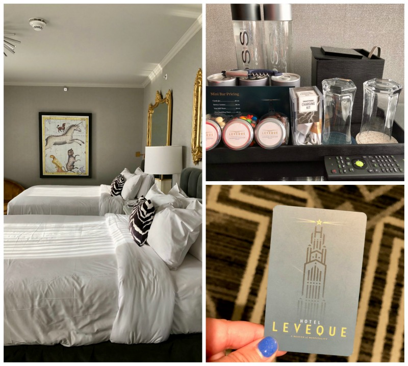 Staying at the luxurious Hotel LeVeque is one of the best things to do in Columbus, Ohio.
