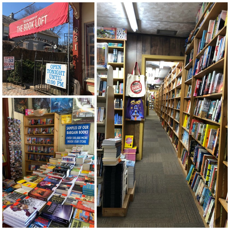 Browsing the Book Loft in German Village is one of the best things to do in Columbus, Ohio.