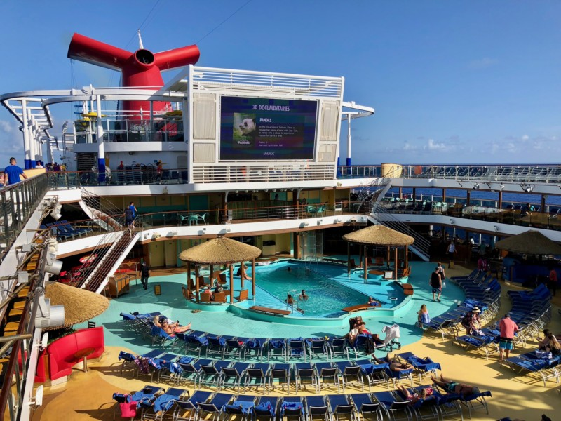 A wide variety of swimming pools and personal spaces are some of the things that will make you fall in love with Carnival Cruise Lines.