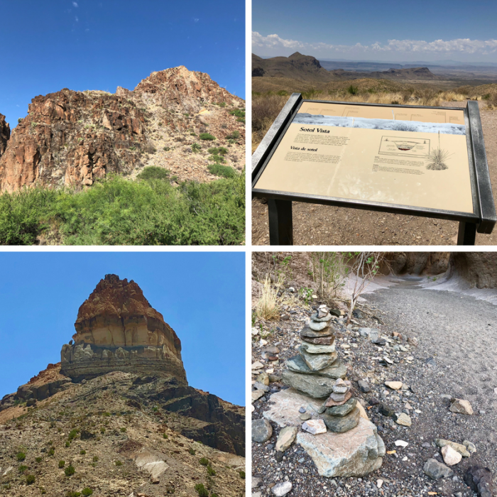 The rugged terrain of Big Bend Ranch State Park.