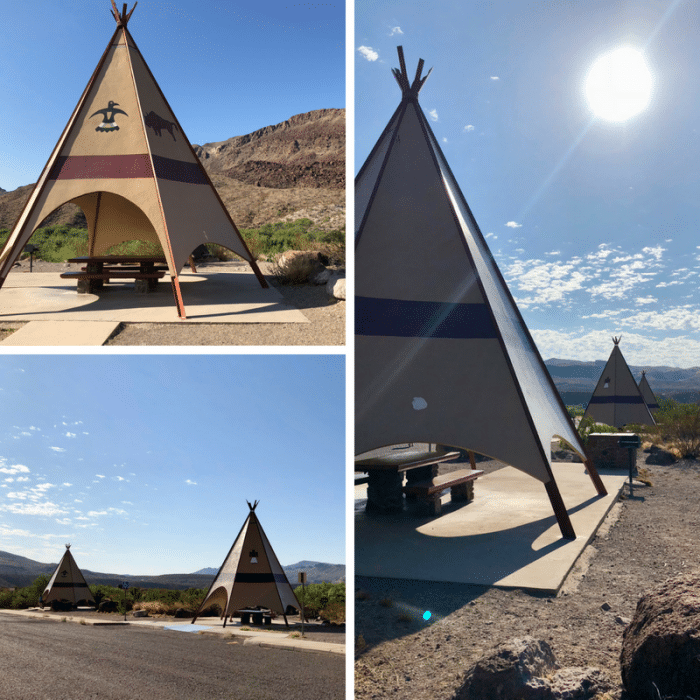 teepees-big-bend-state-park