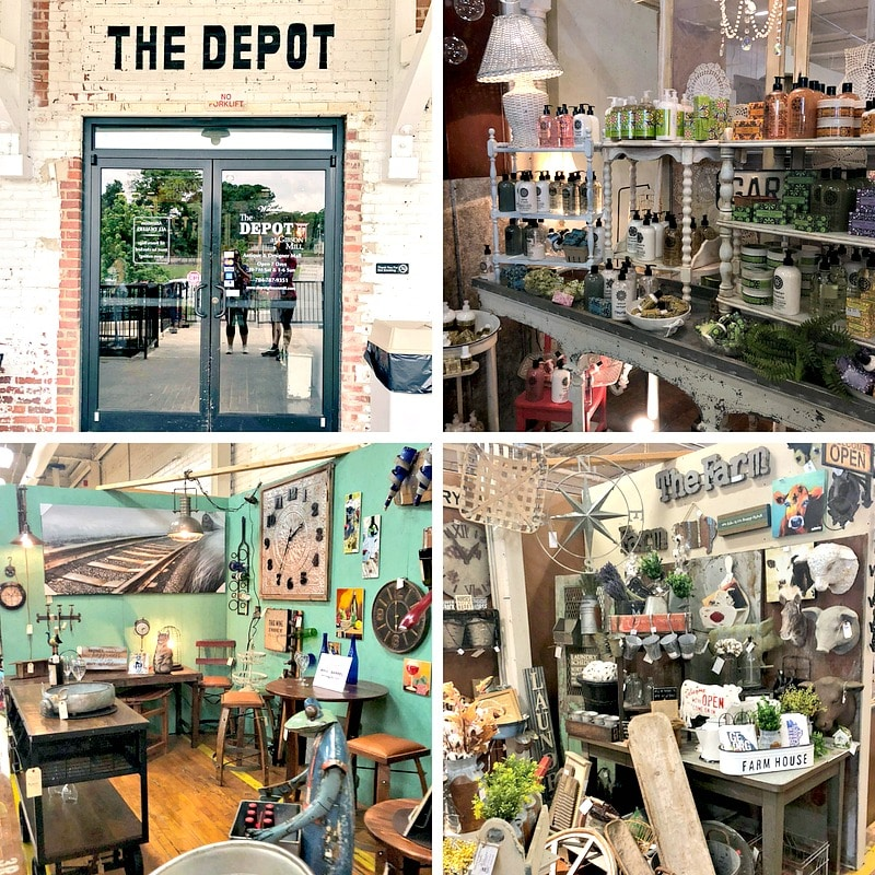 One of the best things to do in Concord, North Carolina is shop at The Depot.