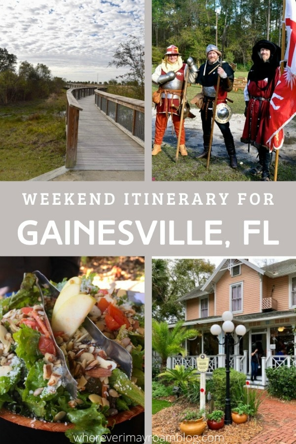gainesville florida weekend itinerary