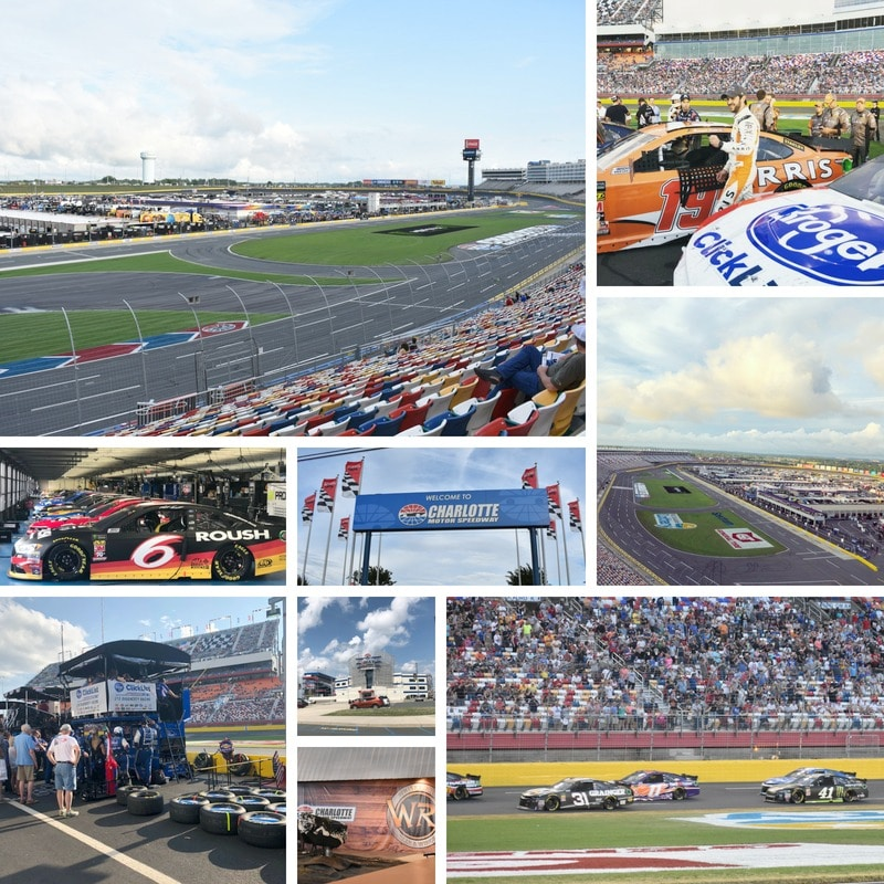 One of the best things to do in Concord, North Carolina is go to Charlotte Motor Speedway.