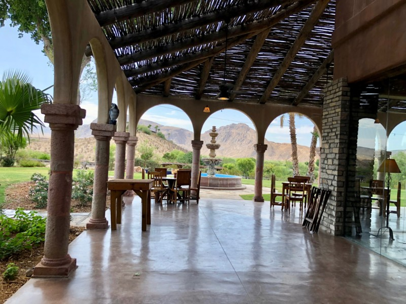 The Lajitas Golf Resort and Spa is a great place to stay in the West Texas desert.