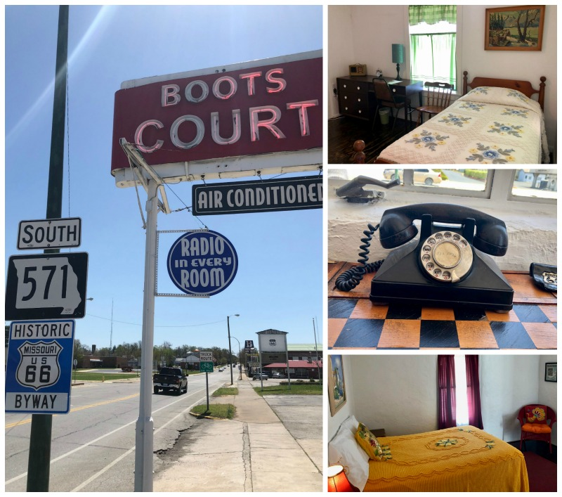 Boots Court is one of the cool things you'll see on Missouri's Route 66 road trip.