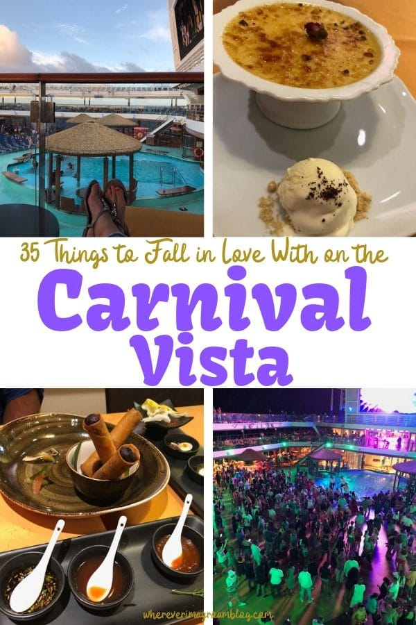 carnival vista cruise pin