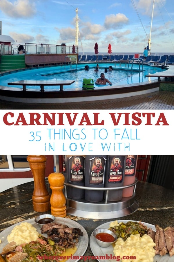 carnival vista cruise ship pin