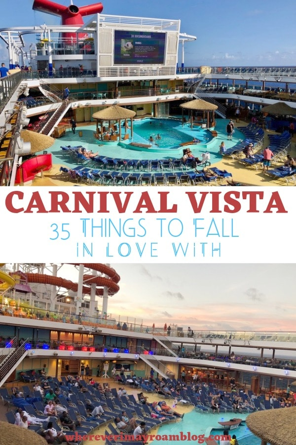 carnival vista things to fall in love with pin