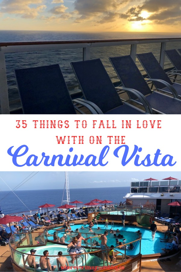 cruise carnival vista pin