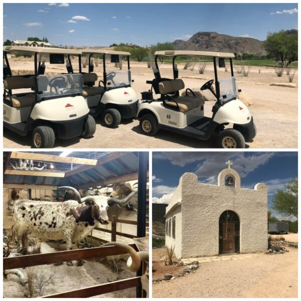 The Lajitas Golf Resort and Spa is a fantastic place to relax in West Texas.