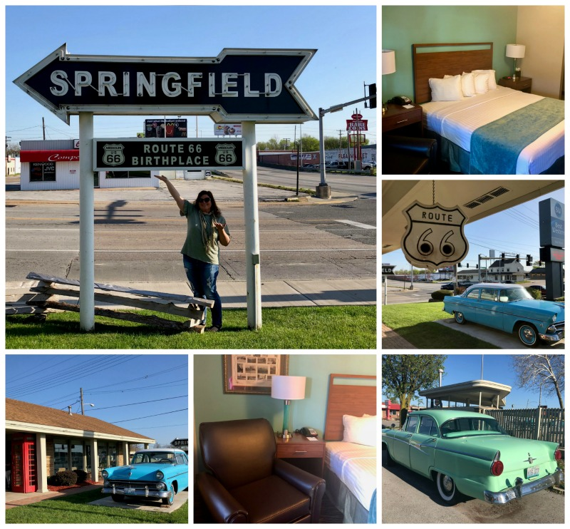 Best Western Route 66 Rail Haven Motel is one of the cool things you'll see on a classic Missouri Route 66 road trip.