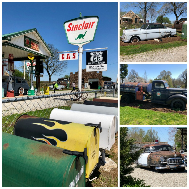 Gary's Gay Parita is one of the cool things you'll see on Missouri's Route 66 road trip.