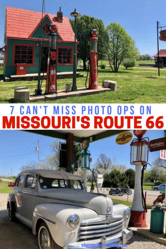 The Route 66 Museum is one of the cool things you'll see on Missouri's Route 66 road trip.