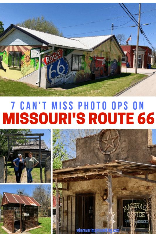 The artsy Red Oak II is one of the cool things you'll see on Missouri's Route 66 road trip.