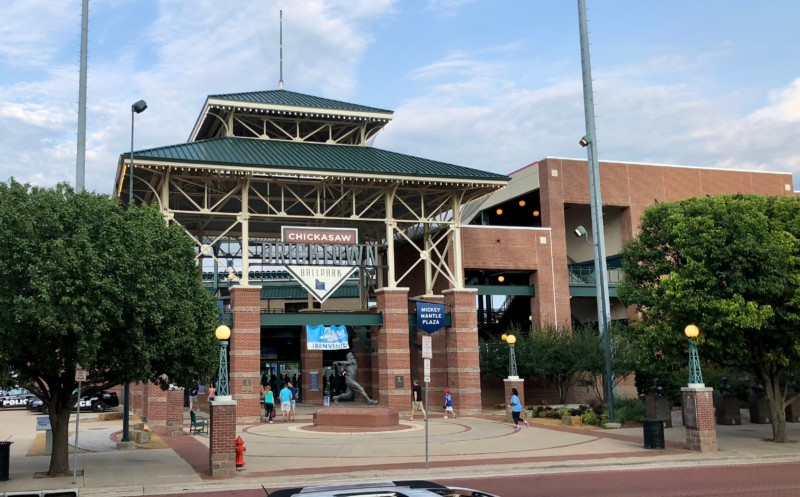 An Oklahoma City itinerary must include a visit to Brick Town for baseball, dining, or just entertainment.