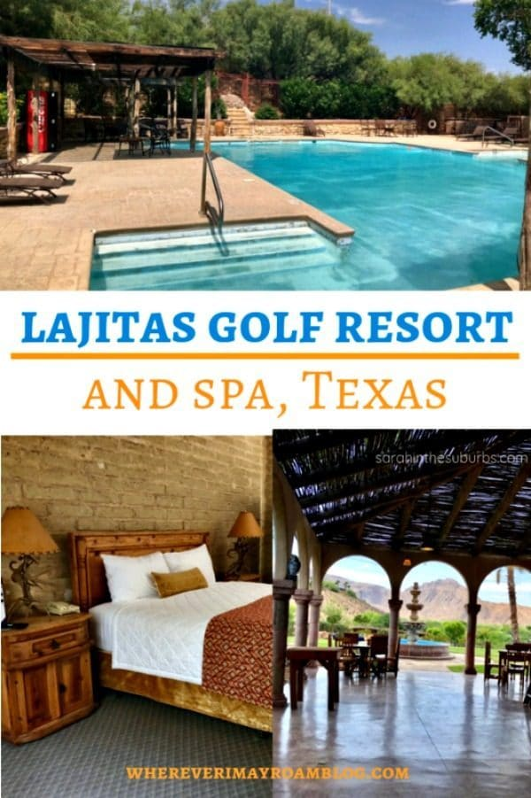 Lajitas Golf resort pin
