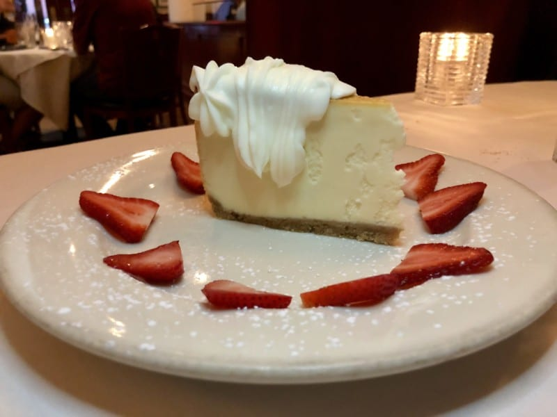 Our itinerary for Oklahoma City includes a delicious dinner and dessert from Mickey Mantle's.